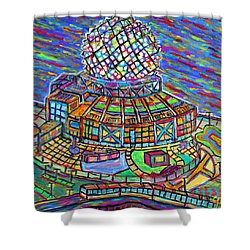 Science World, Vancouver, Alive In Color Shower Curtain