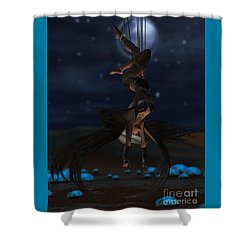 Scifi Shibari 1 Shower Curtain