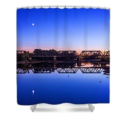 Scioto Sunset Crossing Shower Curtain