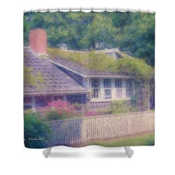 Sconset Cottage #3 Shower Curtain