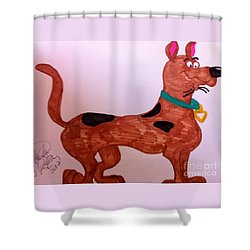 Scooby-doo Shower Curtain