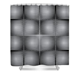 Scoopbox Wall Shower Curtain