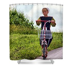 Scootin' Shower Curtain