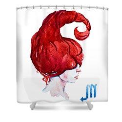 Scorpio Shower Curtain