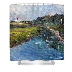 Scorton Creek 3 Shower Curtain