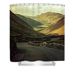 Scotland At The Sunset Shower Curtain by Jaroslaw Blaminsky