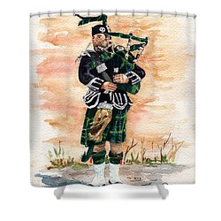 Scotland The Brave Shower Curtain