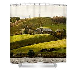 Scots' Pastoral. Shower Curtain