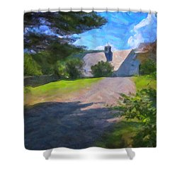 Shower Curtain featuring the photograph Scott Farm Summer by Tom Singleton