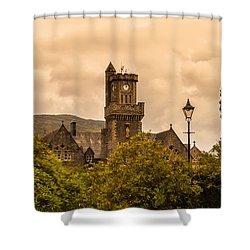 Scottish Abbey Shower Curtain