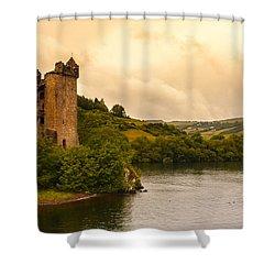 Scottish Castle Shower Curtain