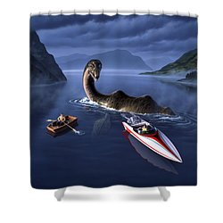 Scottish Cuisine Shower Curtain