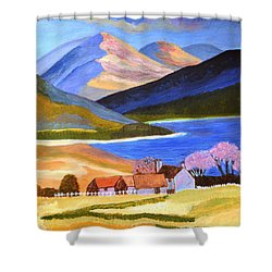 Scottish Highlands 2 Shower Curtain