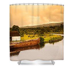Scottish Loch 2 Shower Curtain