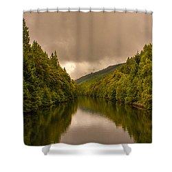 Scottish Loch 5 Shower Curtain