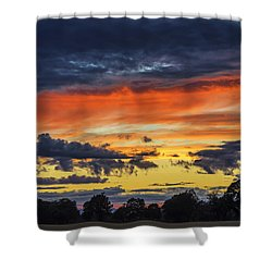 Shower Curtain featuring the photograph Scottish Sunset by Jeremy Lavender Photography