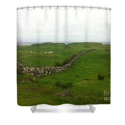 Scottish Wall Shower Curtain