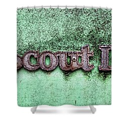 Scout II Shower Curtain