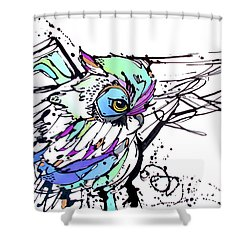 Scouting Shower Curtain by Nicole Gaitan