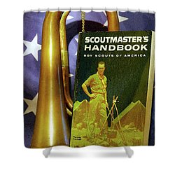 Scoutmaster Shower Curtain