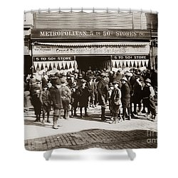 Scranton Pa Metropolitan 5 To 50 Cent Store Early 1900s Shower Curtain