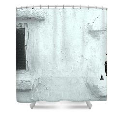 Scream Wall Shower Curtain