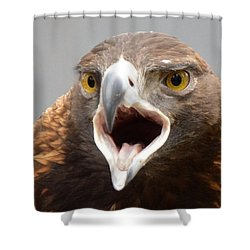 Screaming Eagle Shower Curtain