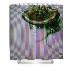 Screen #9222 Shower Curtain