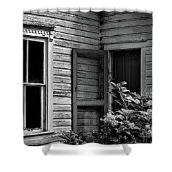 Screen To The Past Shower Curtain