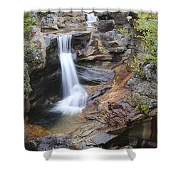 Screw Auger Falls - Maine  Shower Curtain