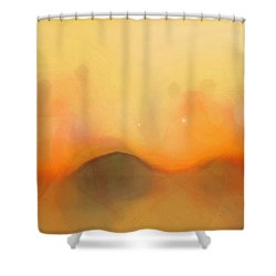 Scrim Shower Curtain