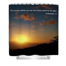 Scriture And Picture Ephesians 1 5 Shower Curtain by Ken Smith