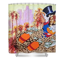 Scrooge In La Shower Curtain
