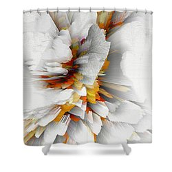 Shower Curtain featuring the digital art Sculptural Series Digital Painting 22.120210 by Kris Haas