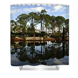 Sculpture Garden Shower Curtain