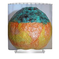 Sculpture Jars 2 Shower Curtain