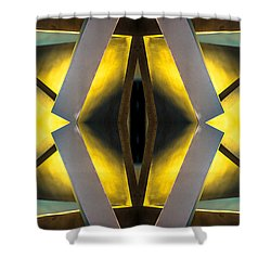 Sculpture On Southport N66v1 Shower Curtain by Raymond Kunst