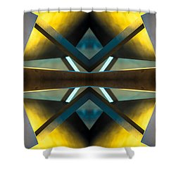 Sculpture On Southport N66v2 Shower Curtain by Raymond Kunst