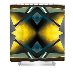 Sculpture On Southport N66v3 Shower Curtain by Raymond Kunst