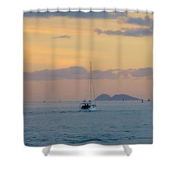 Sd Sumset 1 Shower Curtain