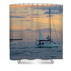 Sd Sunset 3 Shower Curtain