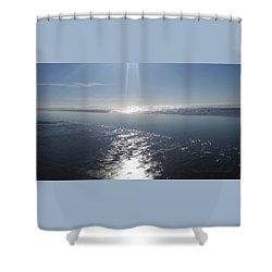 Lighten Up - Sea And Sky - Coastal Photography Shower Curtain