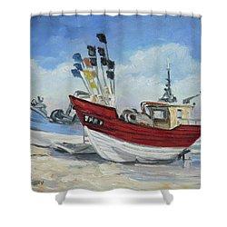 Sea Beach 10 - Baltic Shower Curtain