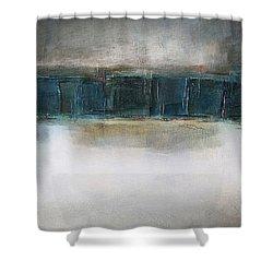 Sea Shower Curtain by Behzad Sohrabi