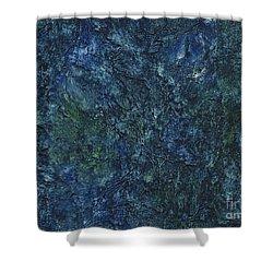 Sea Blue, Sea Green Shower Curtain