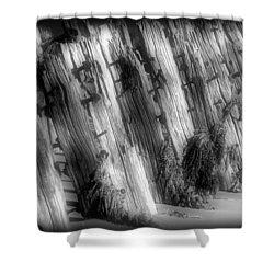 Sea Breakers  Shower Curtain