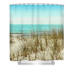 Sea Breeze Shower Curtain by Colleen Kammerer