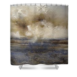 Shower Curtain featuring the painting Sea Breeze by Tamara Bettencourt