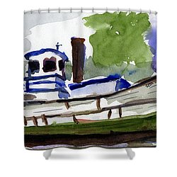 Sea Breeze Shower Curtain