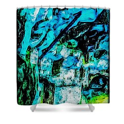 Sea Changes Shower Curtain by William Wyckoff